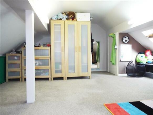 Bedroom 3 / Attic
