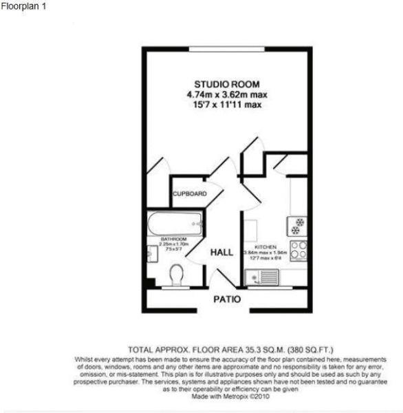 2 D floor paln