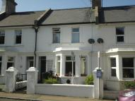 Terraced house in Castle Terrace, Pevensey