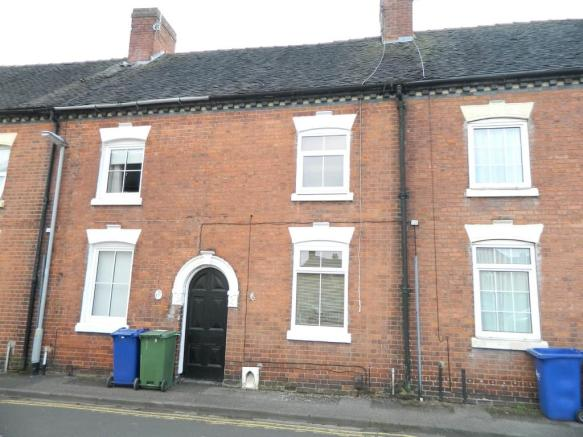 3 bedroom terraced house to rent in bow street rugeley ws15 for Best bathrooms rugeley