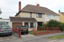 semi detached house in Masefield road...