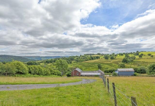 Farmhouse and buildi
