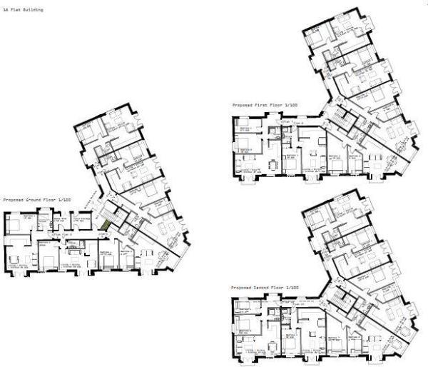 Floorplan - 18 Apart