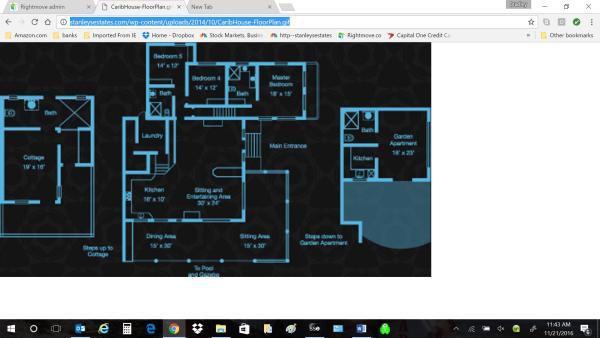 Carib House Floor Pl