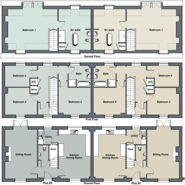 Floorplan Plot 84
