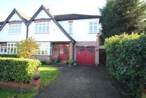 semi detached house in Spring Court Road...