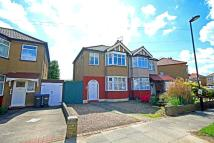 semi detached house for sale in Chailey Avenue, Enfield...