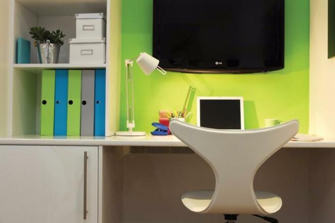 Fantastic desk areas