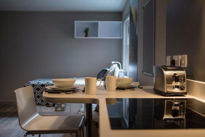 High-spec kitchen