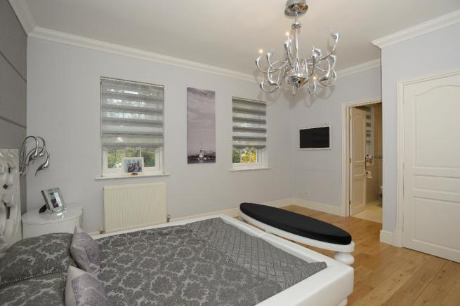 Bedroom 2 with en-suite