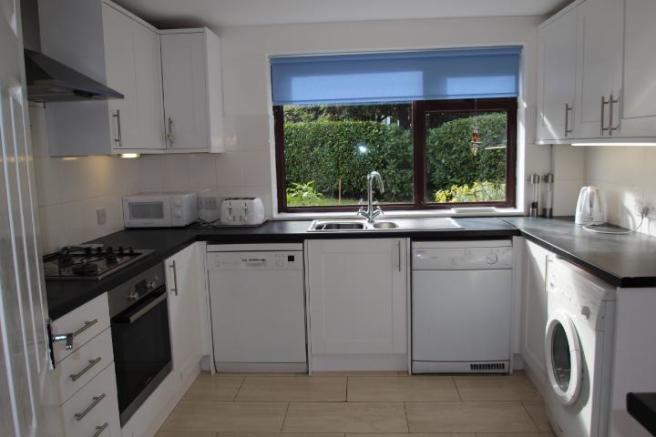 Kitchen overlooking rear garden