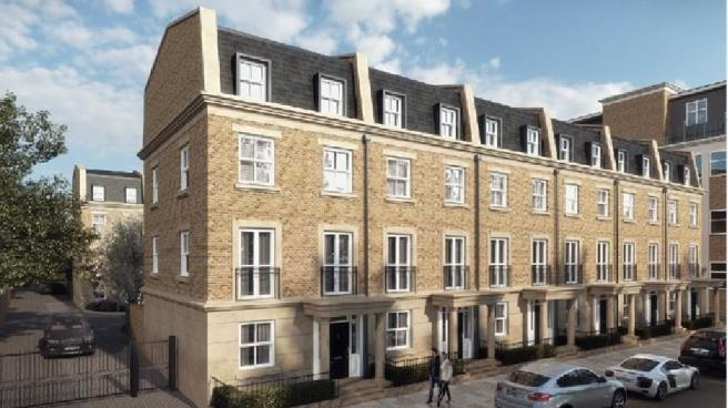 4 bedroom terraced house for sale in hurlingham gate