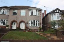 semi detached home for sale in Holyhead Road, Coundon...