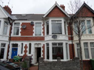 3 bedroom Terraced house to rent in AUSTRALIA ROAD, Cardiff...