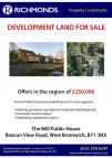 Land in The Mill Public House for sale