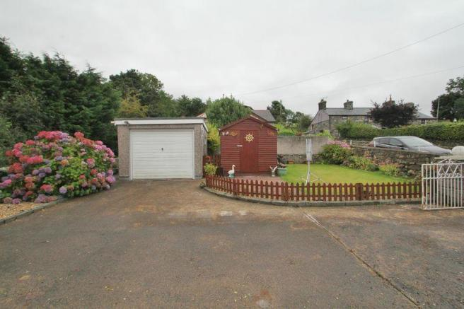 Garage and shed