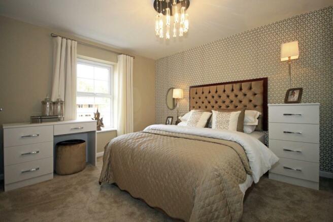 Typical Somerton master bedroom