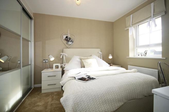 Typical Somerton second bedroom