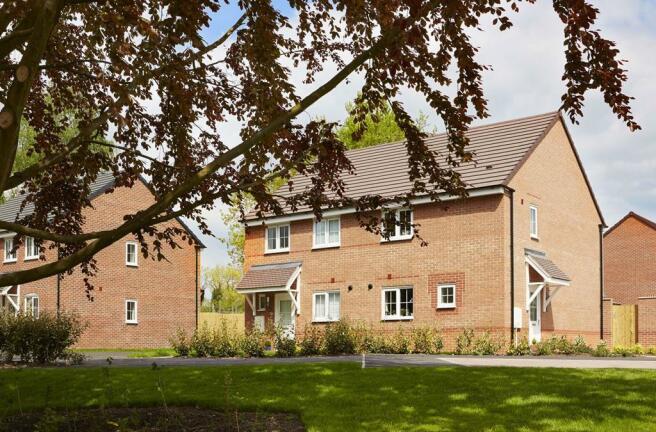 Barwick style three bedroom homes in Yarnfield