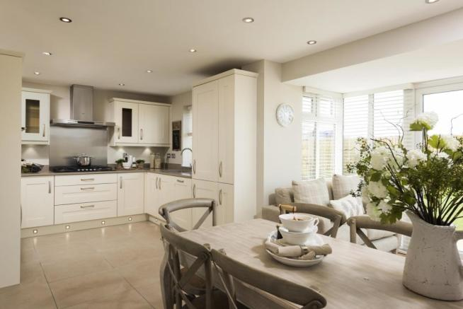 4 bedroom detached house for sale in yarnfield stone st15 for Perfect kitchen harrogate
