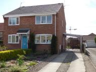 2 bed semi detached house to rent in Outgang Road, Pickering...