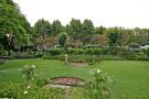 Manicured gardens