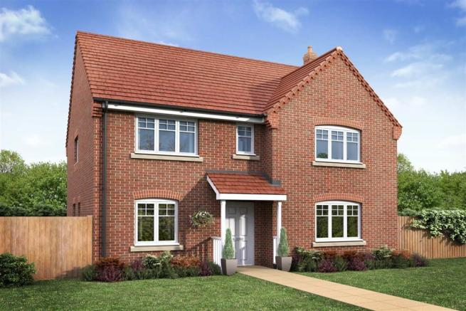 Artists impression of a typical Wellesbourne home
