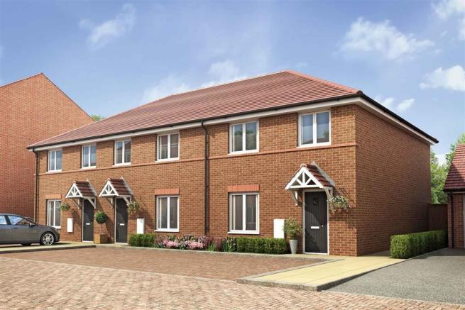 Artists impression shows typical Kempsford home