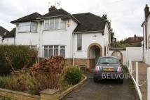 semi detached house to rent in South Lodge Drive...