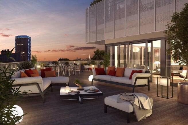 Stunning terrace