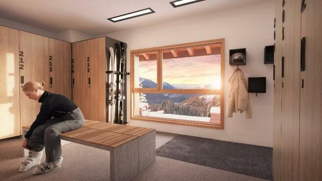 Ski-room