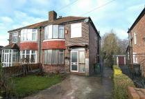 3 bedroom semi detached property for sale in Brassington Road...