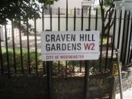 Studio apartment to rent in Craven Hill Gardens...