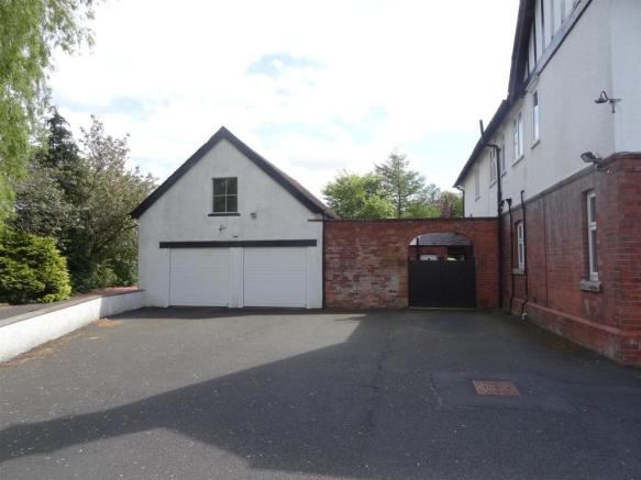 Double Garage With F