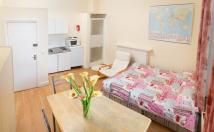 Studio flat in Earls Court Road, London...