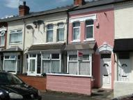 Terraced house in Highbury Road, Oldbury