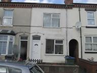 Terraced house in Florence Road...