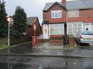 End of Terrace house in Westminster Road, Walsall