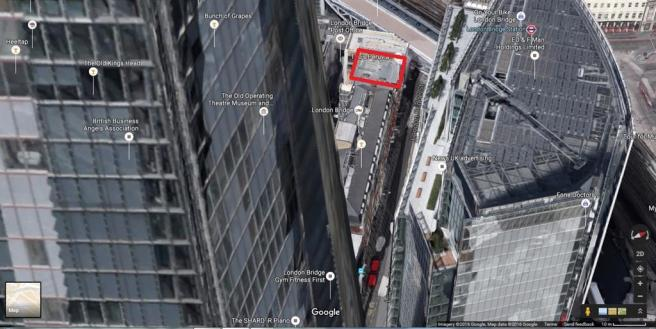 View from the Shard  (c) Google