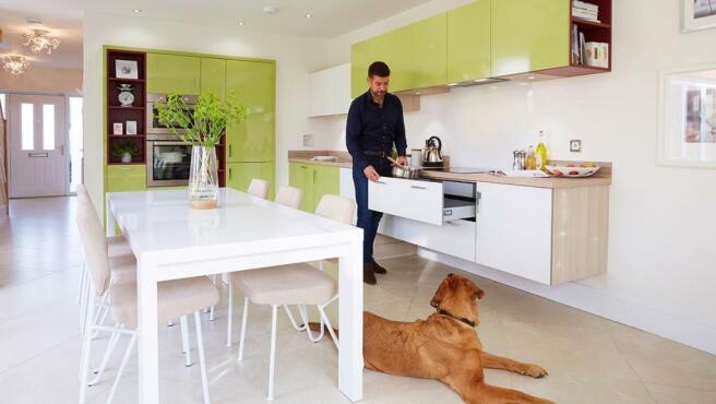 Typical Avant Home Designer Kitchen