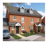 3 bed new development in Chard Road Axminster...