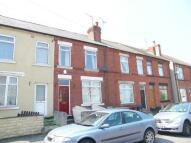 Terraced house in Peel Street...
