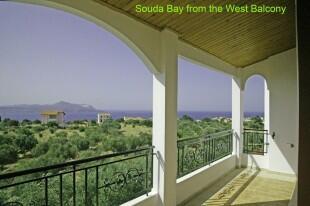 Souda Bay view