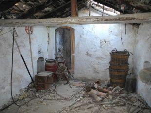 Loft to bedroom door