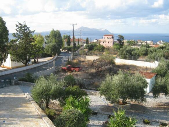 Village view to sea