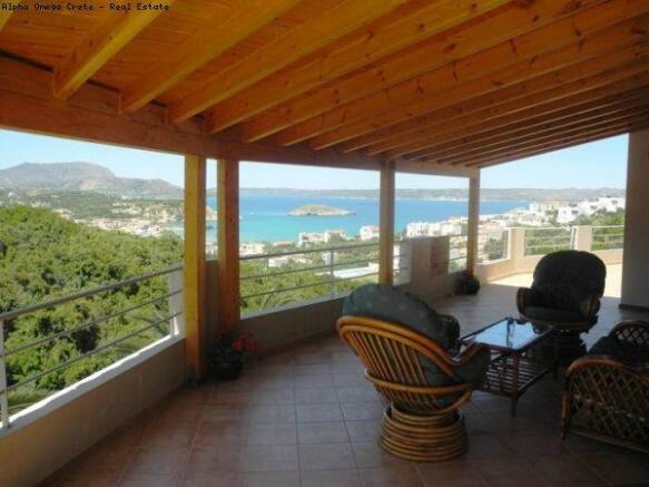Sea view veranda