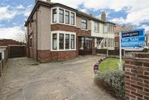 4 bed semi detached house in Rossall Grange Lane...