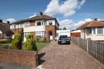 3 bedroom semi detached home for sale in Oakhill Road, Sutton...