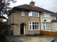 semi detached home in STANWAY ROAD, Oxford, OX3