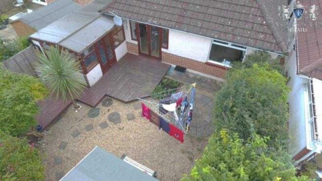 Herbert Drone Rear Garden
